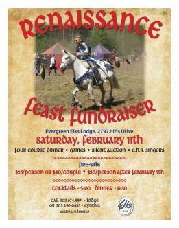 Renaissance Feast Fundraiser